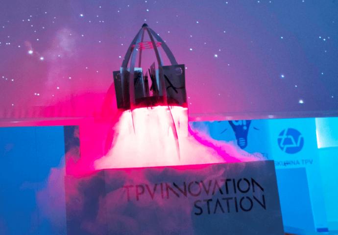 TPV innovation station rocket launch