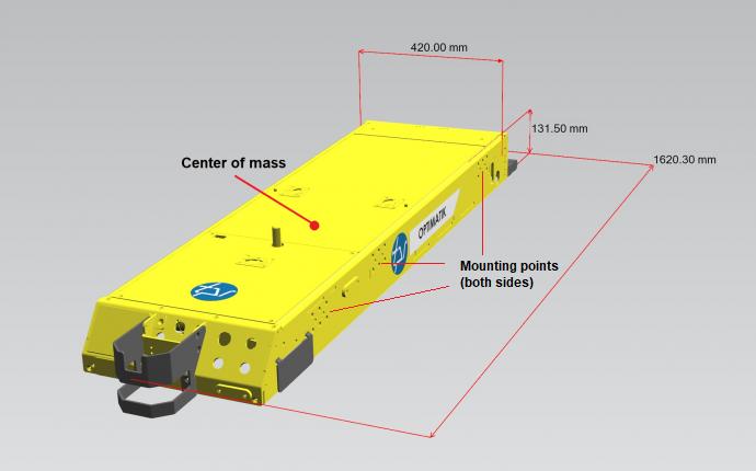 Connecting robot to AGV, Innovation station challenge